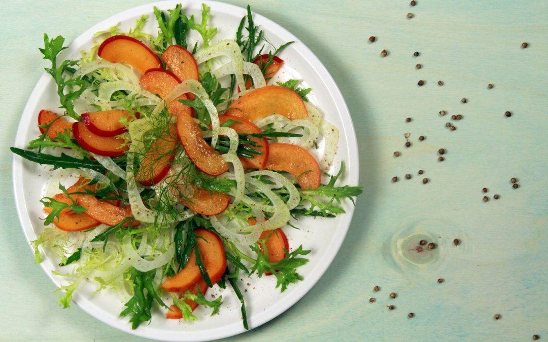 Fenchel – Nektarinen – Salat