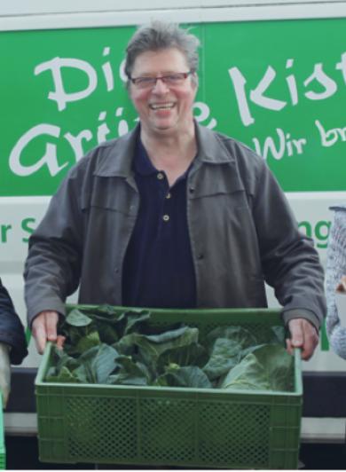 Ökofresh Lieferdienst Gründer der Abokiste für Gemüse