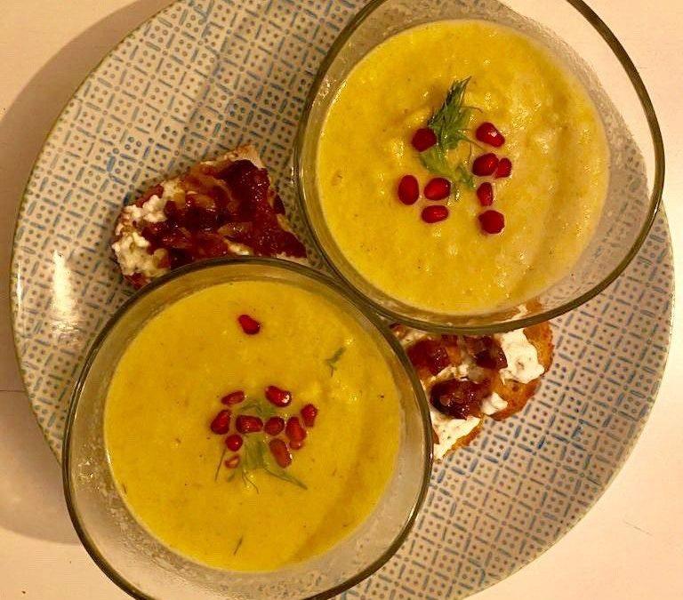 Fruchtig- leckere Fenchel-Orangen-Suppe