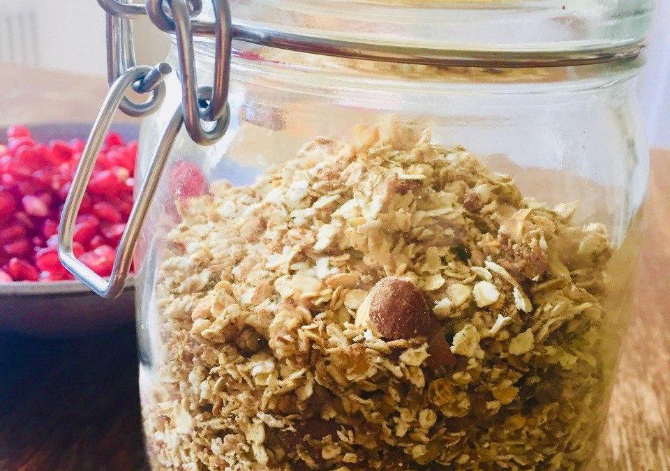 Granola Crunchy Müsli- blitzschnell selbstgemacht
