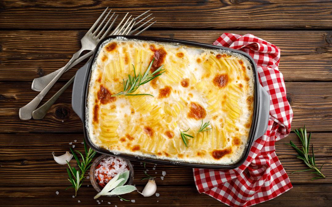 Einfaches Kartoffelgratin- DER französische Klassiker