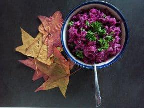 Fruchtiger Rotkohl-Salat