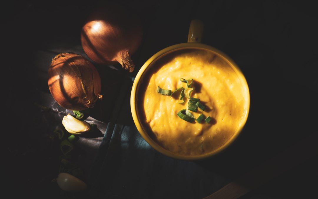 Cremiges Pastinaken-Kartoffel-Süppchen