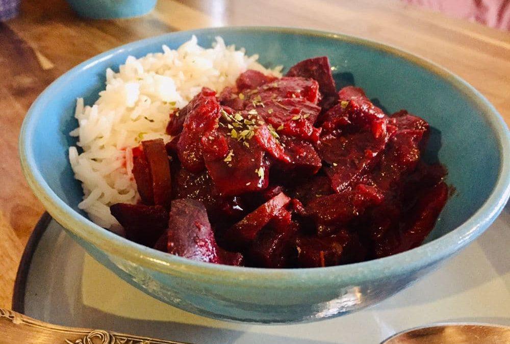 **Maxi-Kochbox** Rote-Bete-Möhren-Curry mit einem Hauch von Ingwer & Zimt