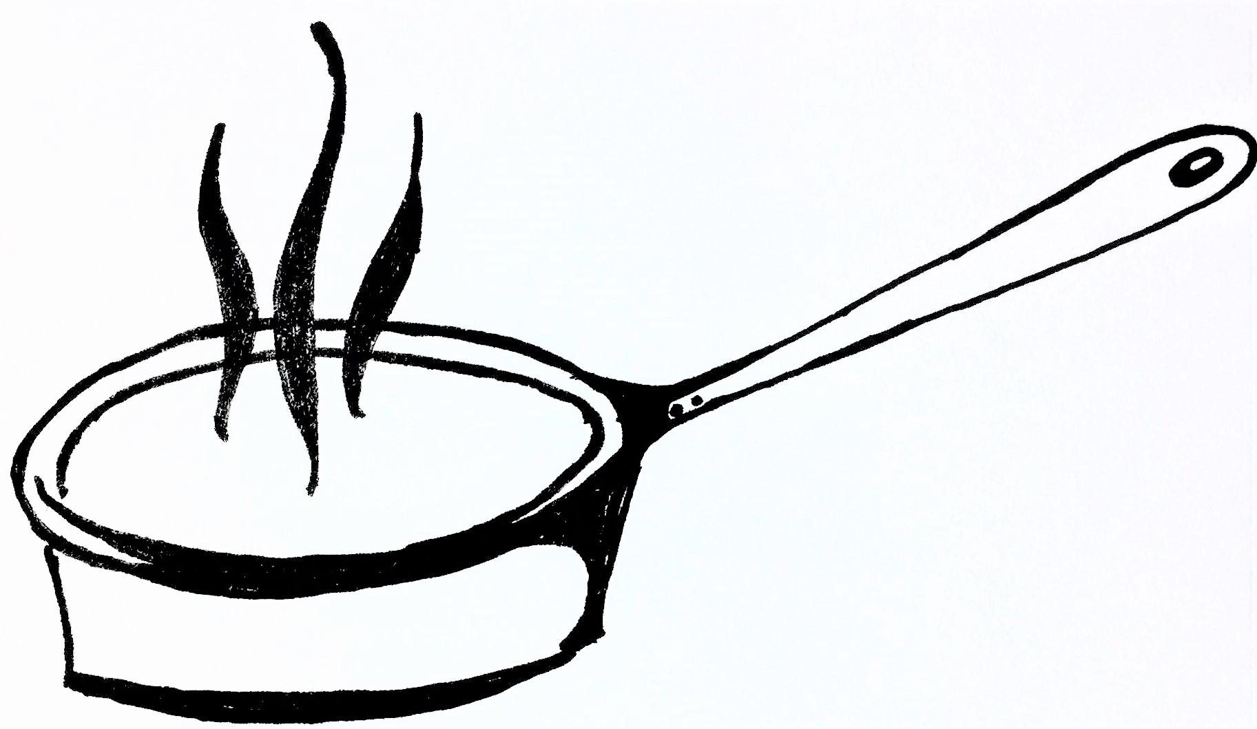 Zeichnung Kochmütze