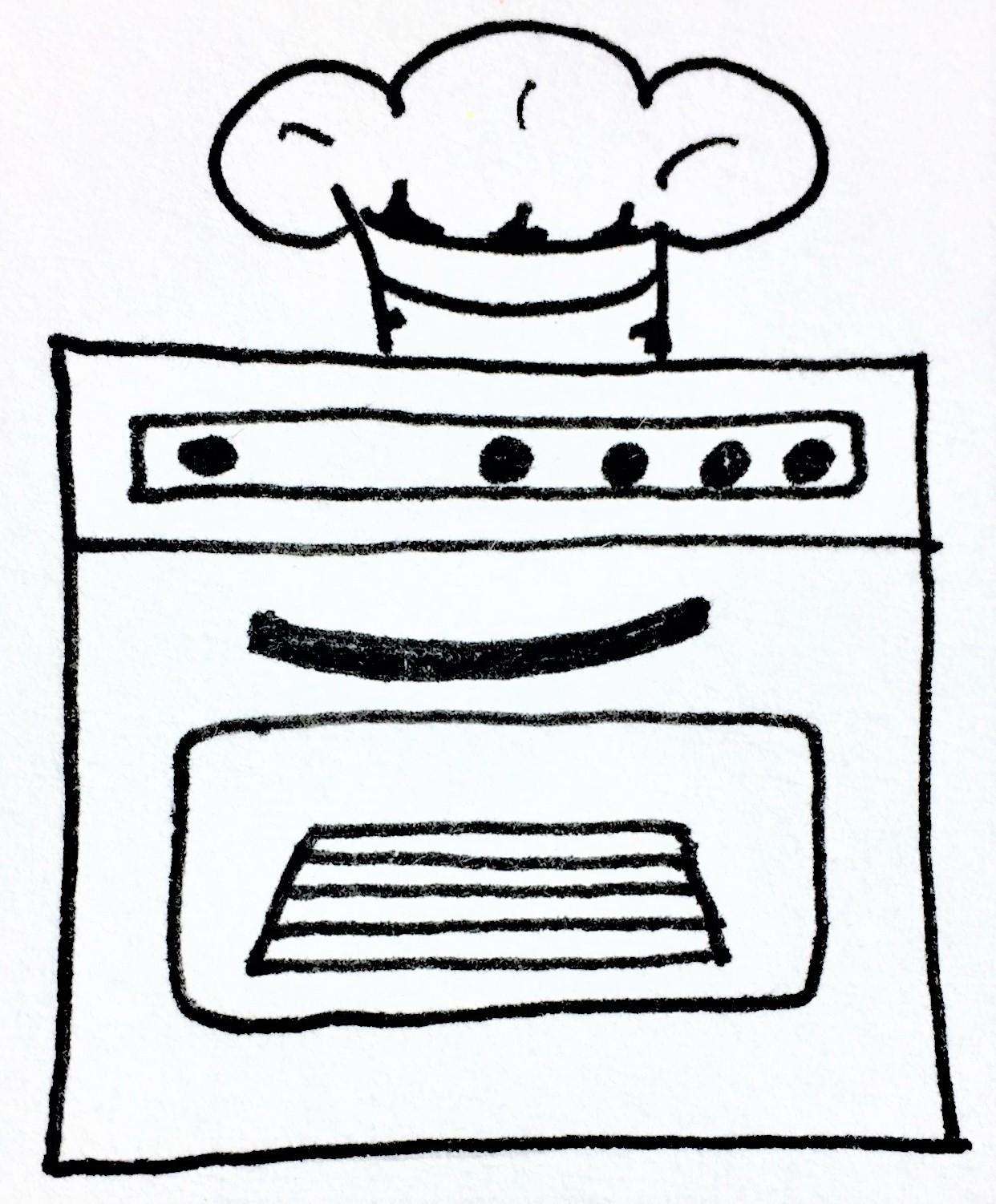 Zeichnung Ökofresh Handschuh