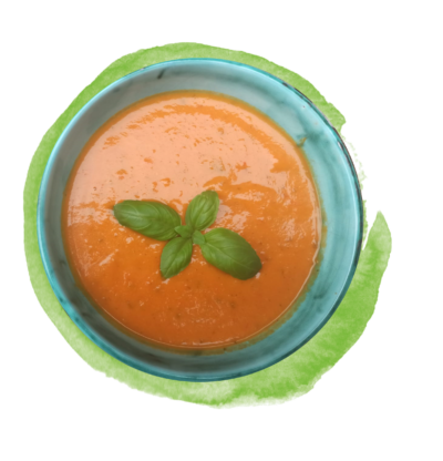 ***Nur Maxi*** Cremige Tomatensuppe