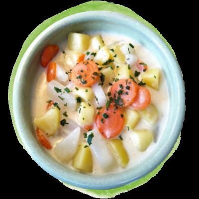 Kohlrabi-Möhren-Bowl